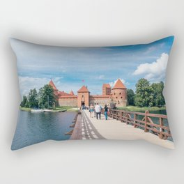 Trakai Island Castle Rectangular Pillow