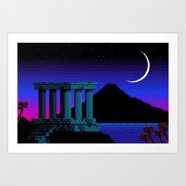 Acropolis Art Print