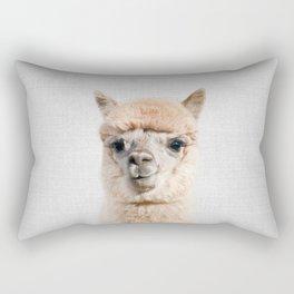 Alpaca - Colorful Rectangular Pillow
