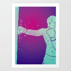 Boxing Club 6 Art Print