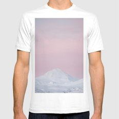 Candy mountain White Mens Fitted Tee MEDIUM