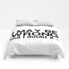 I may be wrong but I doubt it ... Comforters