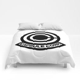 CAPSULE CORP LOGO Comforters