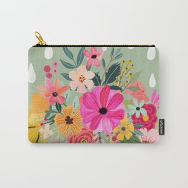 No rain, no flowers Carry-All Pouch