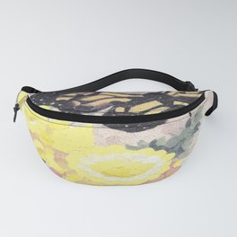 Butterfly Visit Fanny Pack