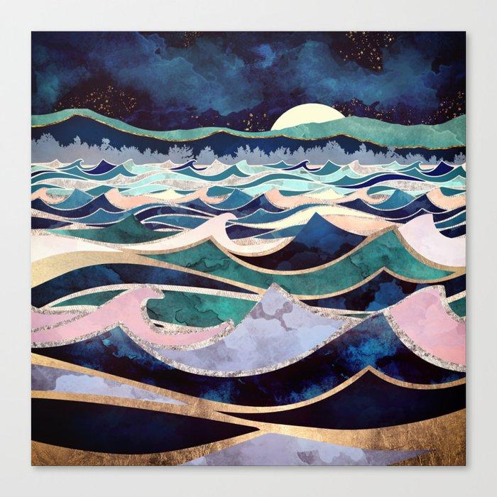 Moonlit Ocean Leinwanddruck