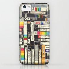 VHS Slim Case iPhone 5c