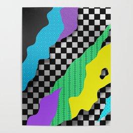 Japanese Patterns 17 Poster