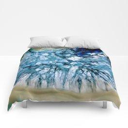 Blue Crystalline Comforters