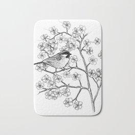 spring bird Bath Mat
