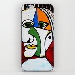 GREEN EYE MAN iPhone Skin
