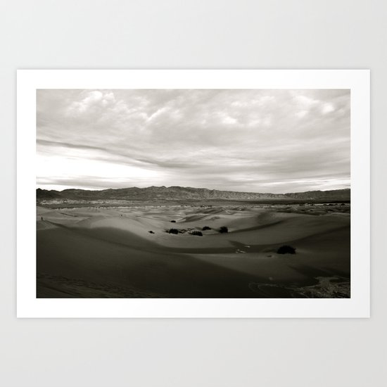 Never-Ending Sandy Ocean Art Print