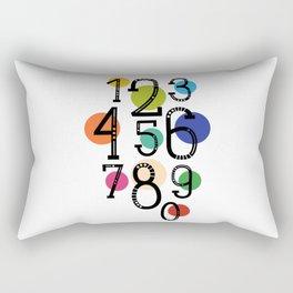 One two nine Rectangular Pillow