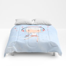 Sundara Happy Dancer Comforters