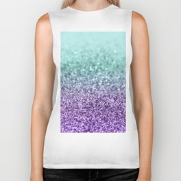 Mermaid Girls Glitter #9 #shiny #decor #art #society6 Biker Tank