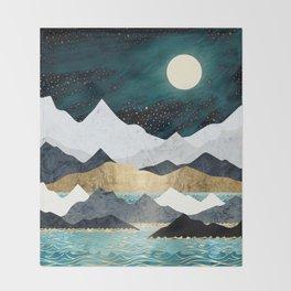 Ocean Stars Throw Blanket
