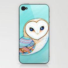 Tribal Pattern Barn Owl iPhone & iPod Skin