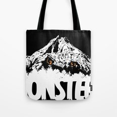 Monsters ( The Living Mountain ) Tote Bag