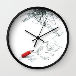 writingfighting Wall Clock