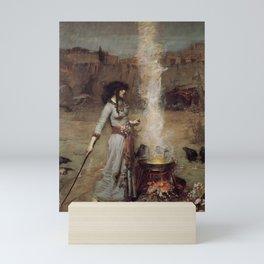 The Magic Circle, John William Waterhouse Mini Art Print