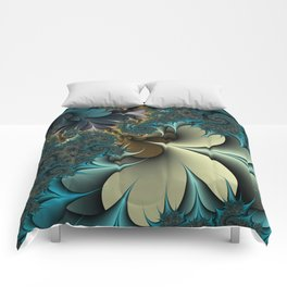 Birds of a Feather Fractal Comforters