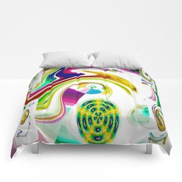 Abstract Perfection 25 Comforters