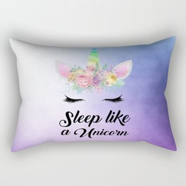 Sleep Like A Unicorn Rectangular Pillow