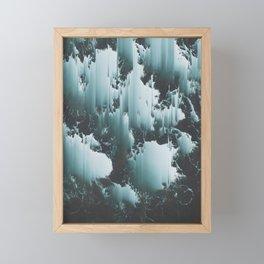 FEELS LIKE WE ONLY GO BACKWARDS Framed Mini Art Print