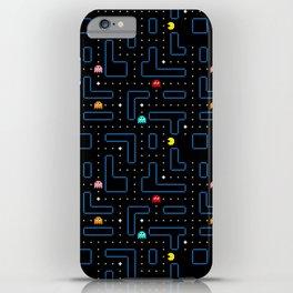 Pac-Man Retro Arcade Gaming Design iPhone Case