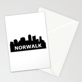 Norwalk Skyline Stationery Cards