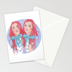 Follow the White Rabbit - Tweedles Stationery Cards