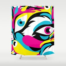 See 'em, Yikesss Shower Curtain