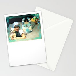 Neon Blues #2 Stationery Cards