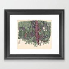 Weeping Cedar Framed Art Print