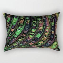 Weird Fractal Rectangular Pillow