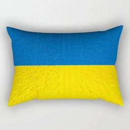 Extruded flag of Ukraine Rectangular Pillow