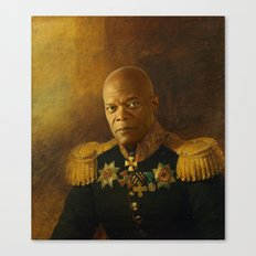 Samuel L. Jackson - replaceface Canvas Print