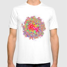 A Bundle of Fun White MEDIUM Mens Fitted Tee