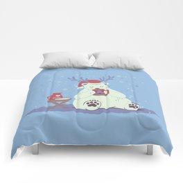 Polar Xmas Eggnog Comforters