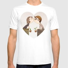Beso Mens Fitted Tee MEDIUM White