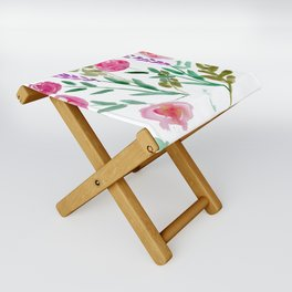 Country Bouquet Folding Stool