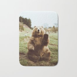 Hi Bear Bath Mat