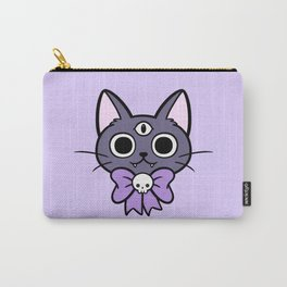 Three Eyed Kitty Carry-All Pouch