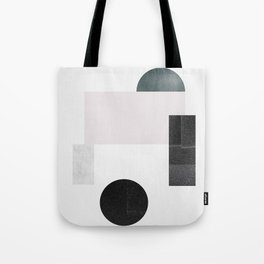 Black ball Tote Bag