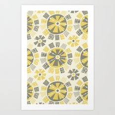 Mod Floral Art Print