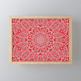 Mandala 38 Framed Mini Art Print