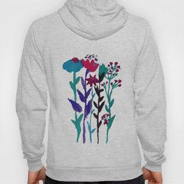 Meadow Flowers Watercolor Hoody