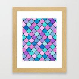 Sparkle Scales Framed Art Print
