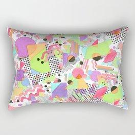 Rad Retro Party Rectangular Pillow