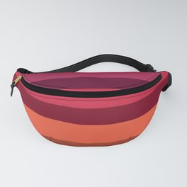 Accordion Fold Series Style A Fanny Pack